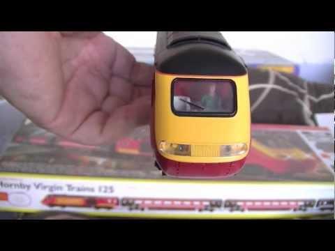 Hornby R1080 Virgin High Speed Trains 125 HST Train Set Class 43 HORNBY LIVERY Virgin Press Office