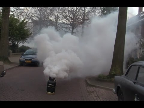 Biggest SmokeBomb on YT - Angry Neighbours - Firefighters - Long version