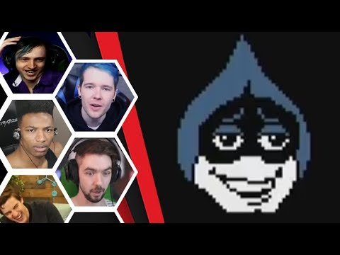 Let's Players Reaction To Lancer's True Face | Deltarune