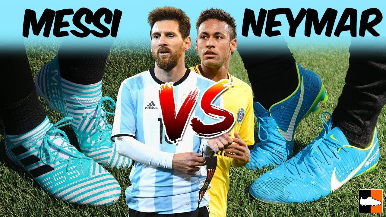 Neymar or Messi? Who Has the Best Boots! NJR Vapor XI vs Nemeziz 17.1 -  Ultimate Boot Battle