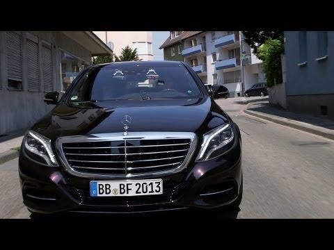2014 Mercedes S-Class AUTONOMOUS DRIVING DEMO 'Intelligent Drive'