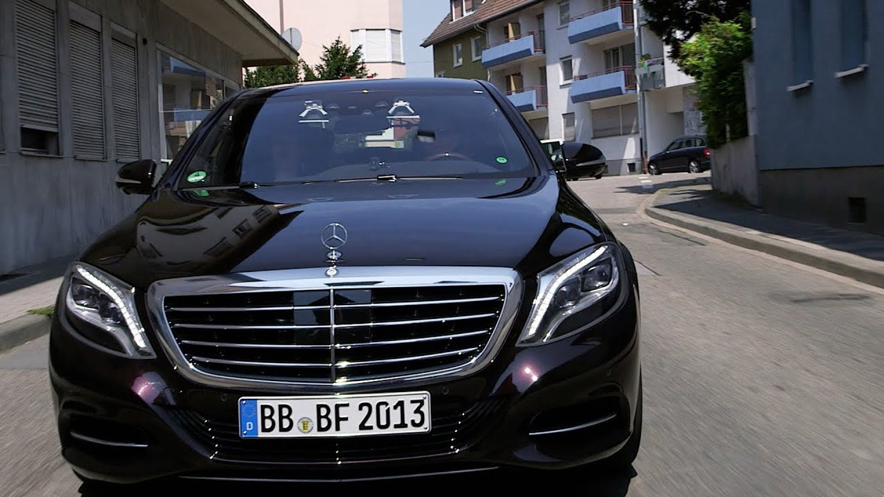 mercedes s class 2014 autonomous driving demo intelligent drive youtube