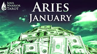 🍀ARIES JANUARY 2019 MONEY JOB CAREER SUCCESS FORECAST Soul Warrior Tarot