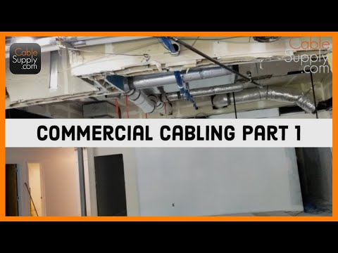 Commercial Computer Network Cabling Part 1