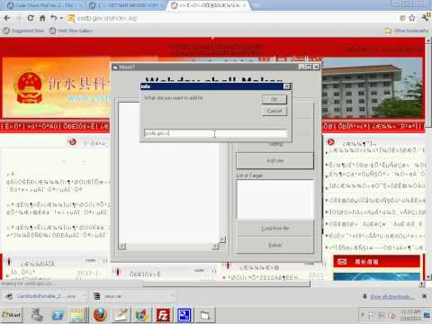 Tool check error and upload shell via ASP
