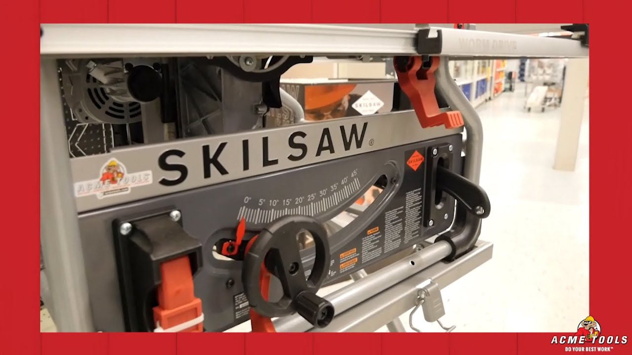 Skilsaw 10 in worm drive table saw with diablo blade youtube skilsaw 10 in worm drive table saw with diablo blade greentooth Choice Image
