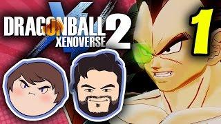 Dragon Ball Xenoverse 2: TIME COPS! - PART 1 - Grumpcade (Ft. Strippin)