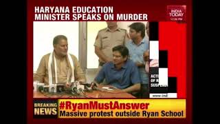 Haryana Education Min, Rambilas Sharma Speaks Out On Gurugram School Murder