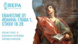 Евангелие от Иоанна, I: 18-28. Свидетельство Иоанна Крестителя. Комментирует о. Дмитрий Барицкий