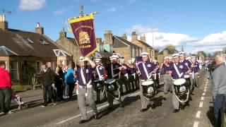 Broxburn Loyalists Band Parade 25th April 2015 Part 1
