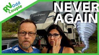 TORNADO ALLEY & DEATH WOBBLE! SURVIVING TORNADO & SEVERE WEATHER IN AN RV