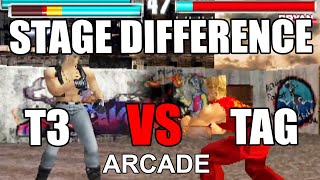 All Tekken 3 Stages to TAG Difference Evolution Arcade