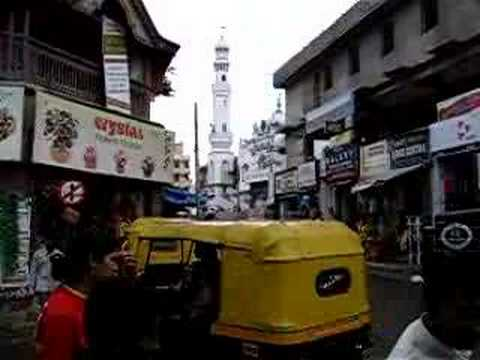 Bangalore, India, shopping street mosque