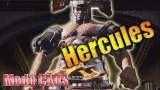 Hercules en modo CAOS (Chaos) // Como derrotar a hercules GOW3 (muerte de hercules)