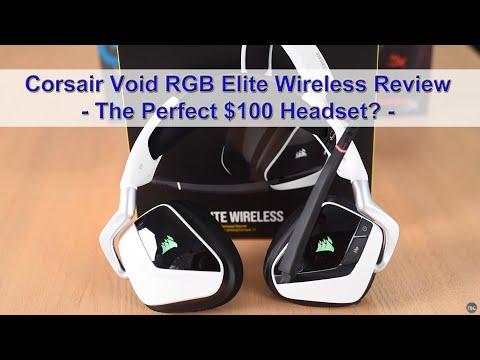 Corsair Void RGB Elite Wireless Gaming Headset Review