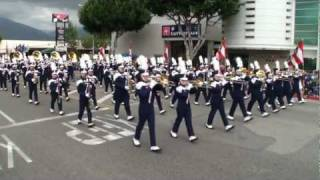 Chino HS - National Fencibles - 2011 Arcadia Band Review