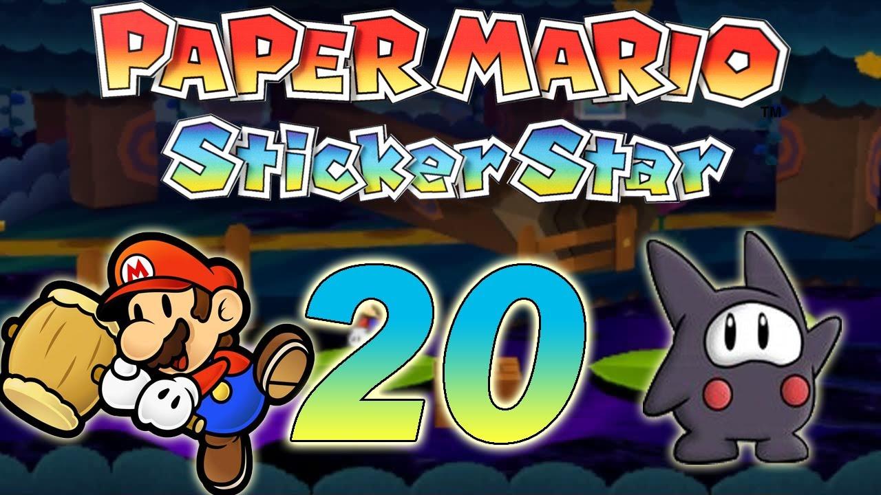paper mario sticker star how to get barrel