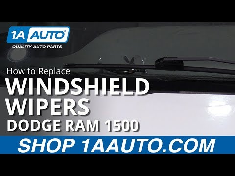 How to Replace Wiper Blades 94-01 Dodge Ram 1500