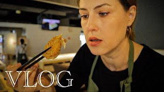 ВЛОГ. Кулинарный урок, новый GTR, маньяки в метро.