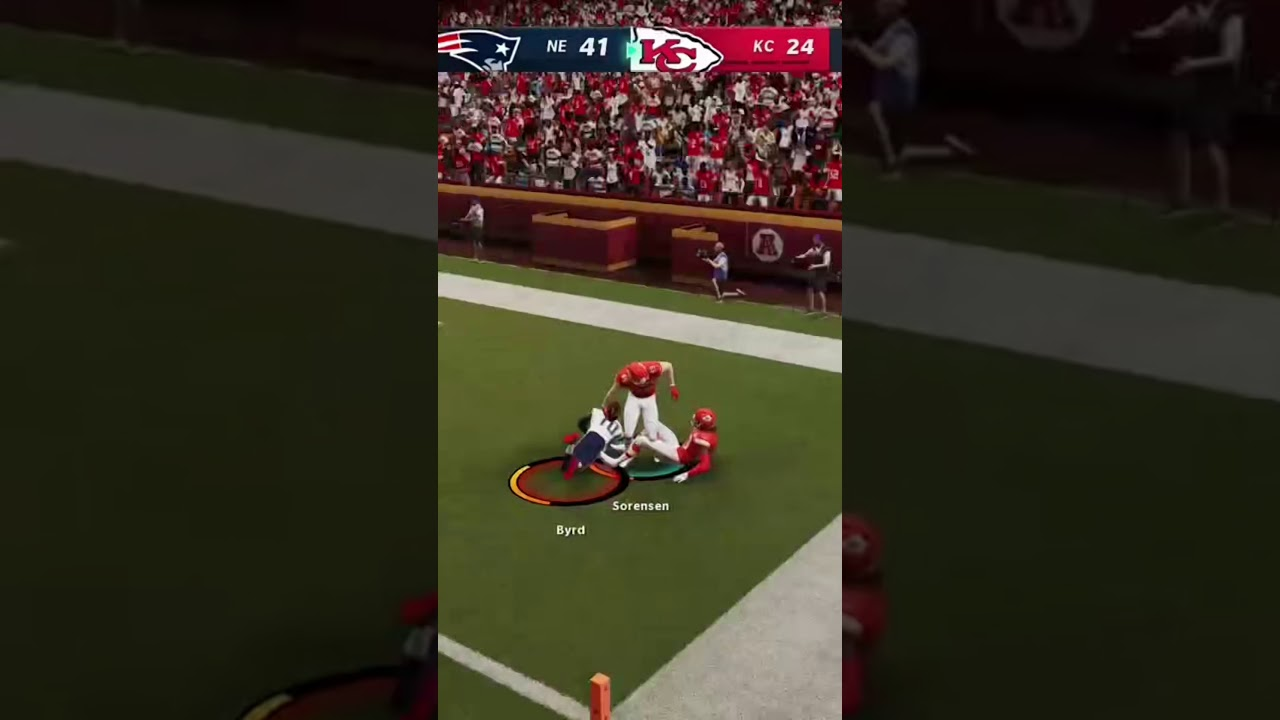 This could be the most hilarious madden play ever #shorts
