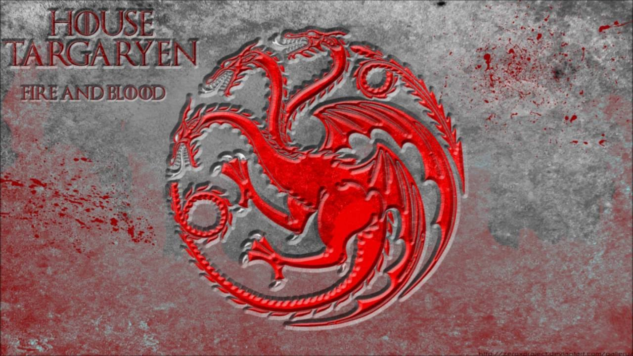 Game Of Thrones Soundtrack House Targaryen Youtube