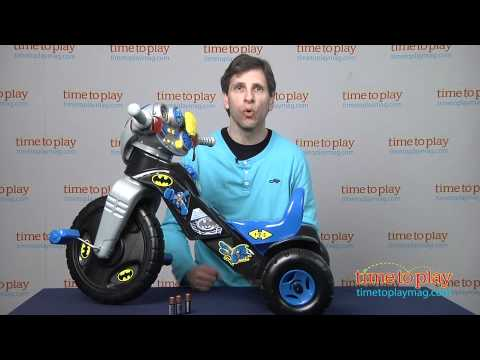 DC Super Friends Batman Lights & Sounds Trike From Fisher-Price
