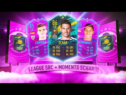 AMAZING PLAYER MOMENTS SCHAR SBC! + LA LIGA SBC! - FIFA 20 Ultimate Team