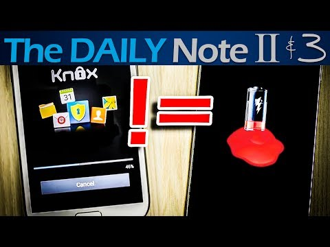 Is Samsung Knox Draining Your Battery On Your Galaxy Note?
