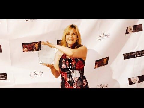 Lisa Coppola Winning the Josie Award for Best Modern Country Song - Female Artist