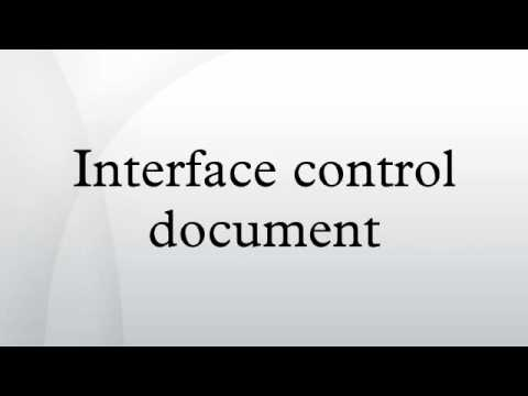 Interface control document youtube pronofoot35fo Image collections