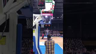 Lavar Ball Shooting Half Court Shots in Lithuania