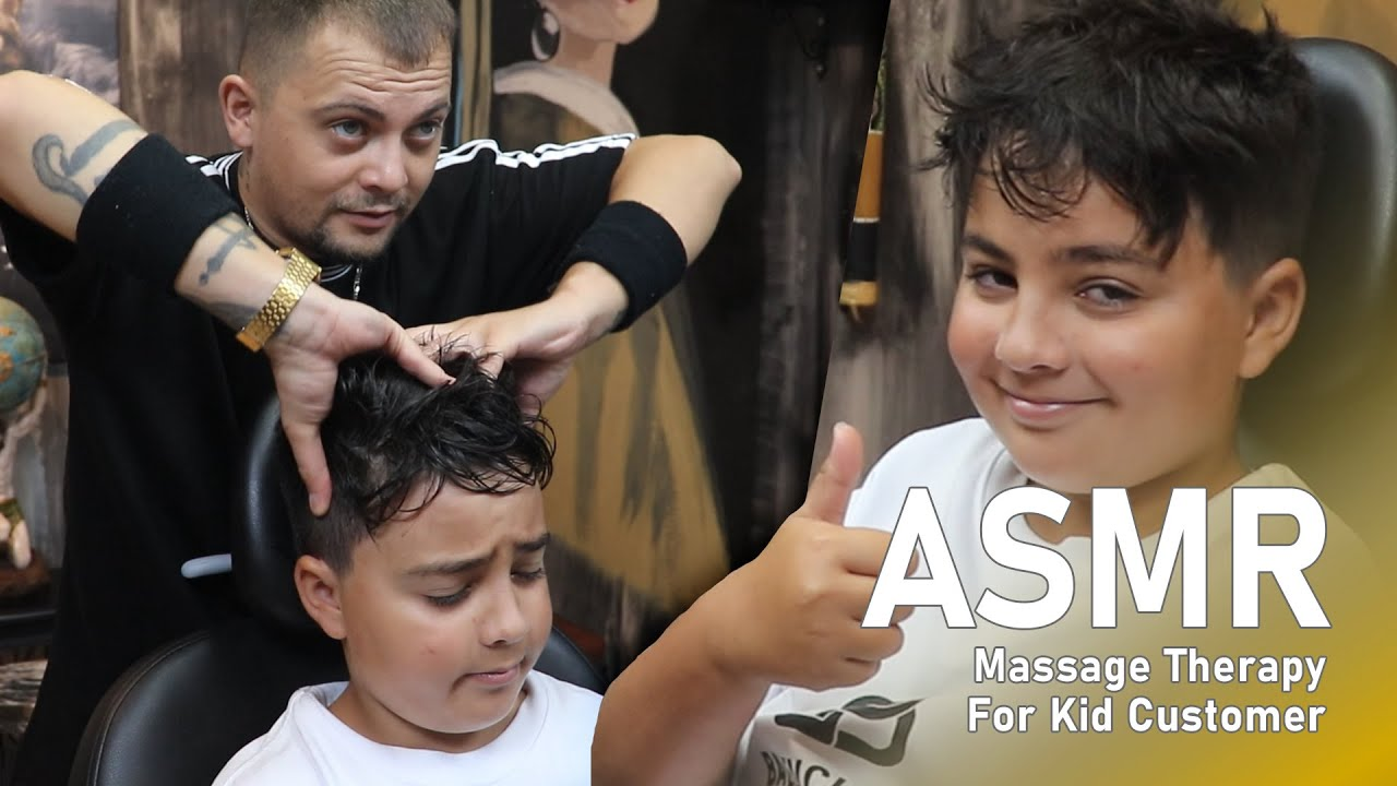 ASMR - Head Massage In Real Barber Shop by Anil Cakmak