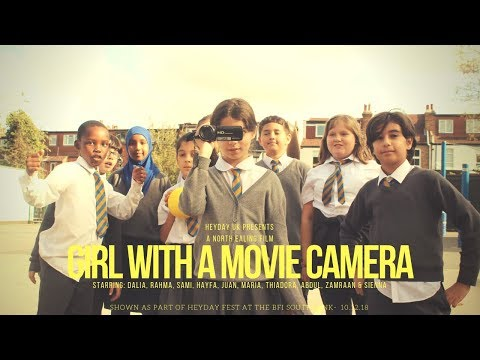 Girl With A Movie Camera- A Short Film About A Girl Who Finds A Strange Device (Heyday UK)
