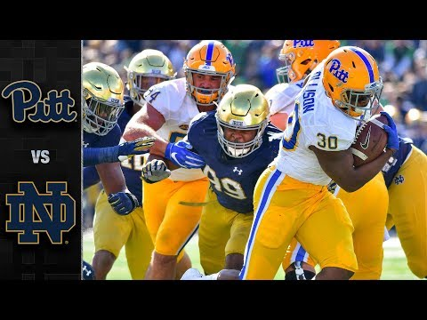 Pittsburgh vs. Notre Dame Football Highlights (2018)