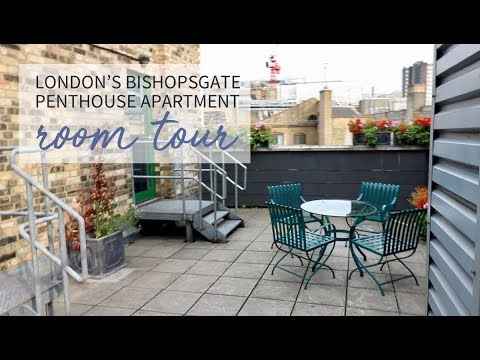London Bishopsgate Penthouse Apartment Tour l Family Travel