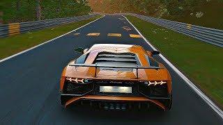 Gran Turismo Sport - Gameplay Lamborghini Aventador LP-750 Superveloce @ Nurburgring [1080p 60fps]