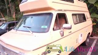 b4a0de0097 Meet Leanardo - 1984 Chevy Horizon Camper Van Tour  Van Life After 25 ...