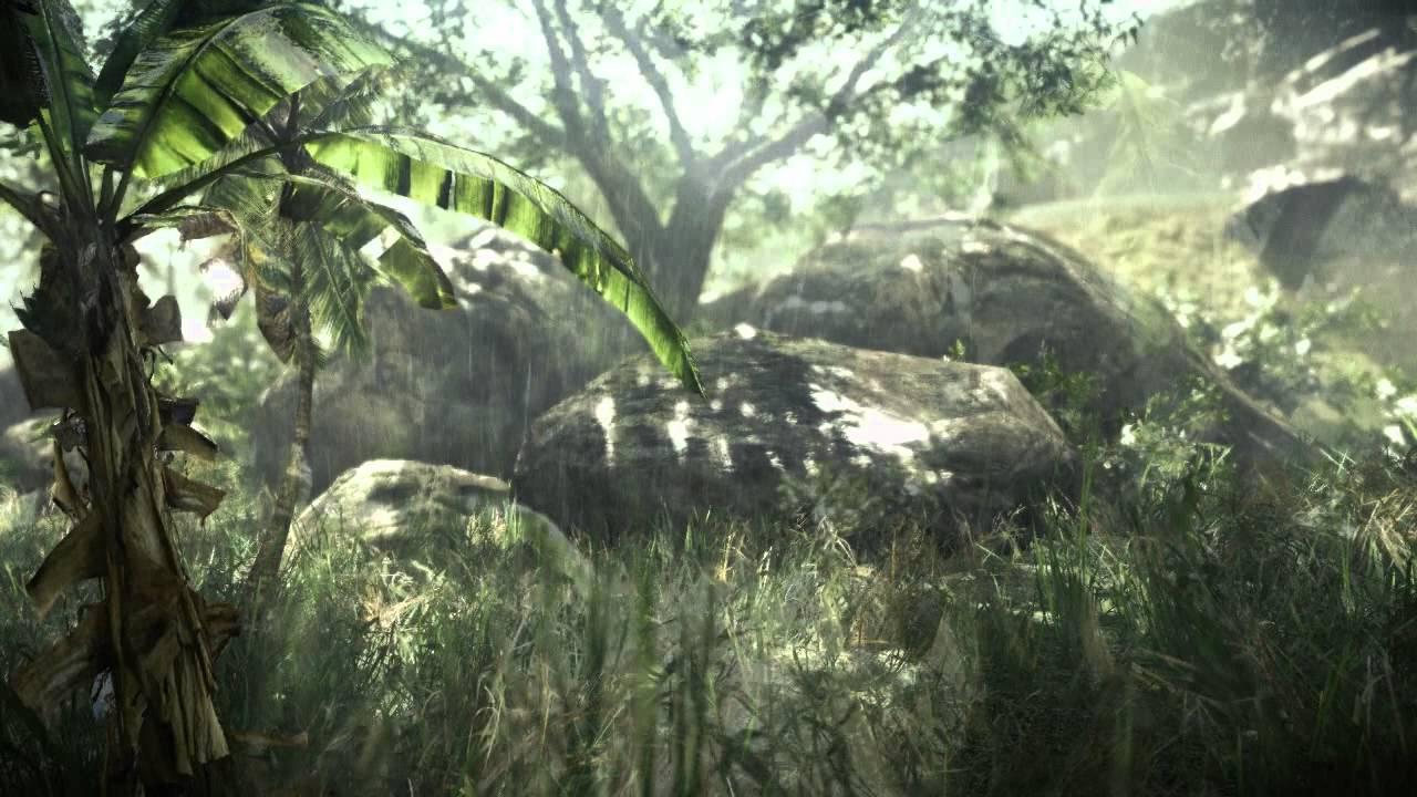 CryEngine 3 rainy jungle