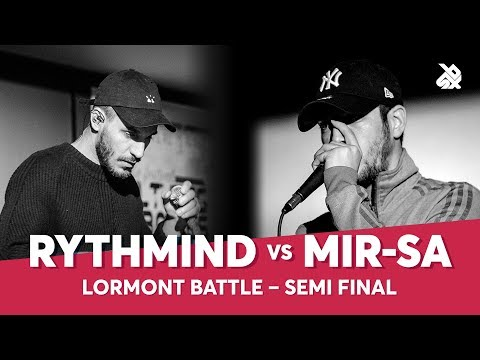 RYTHMIND vs MIR-SA | Lormont Loopstation Beatbox Battle | Semi Final