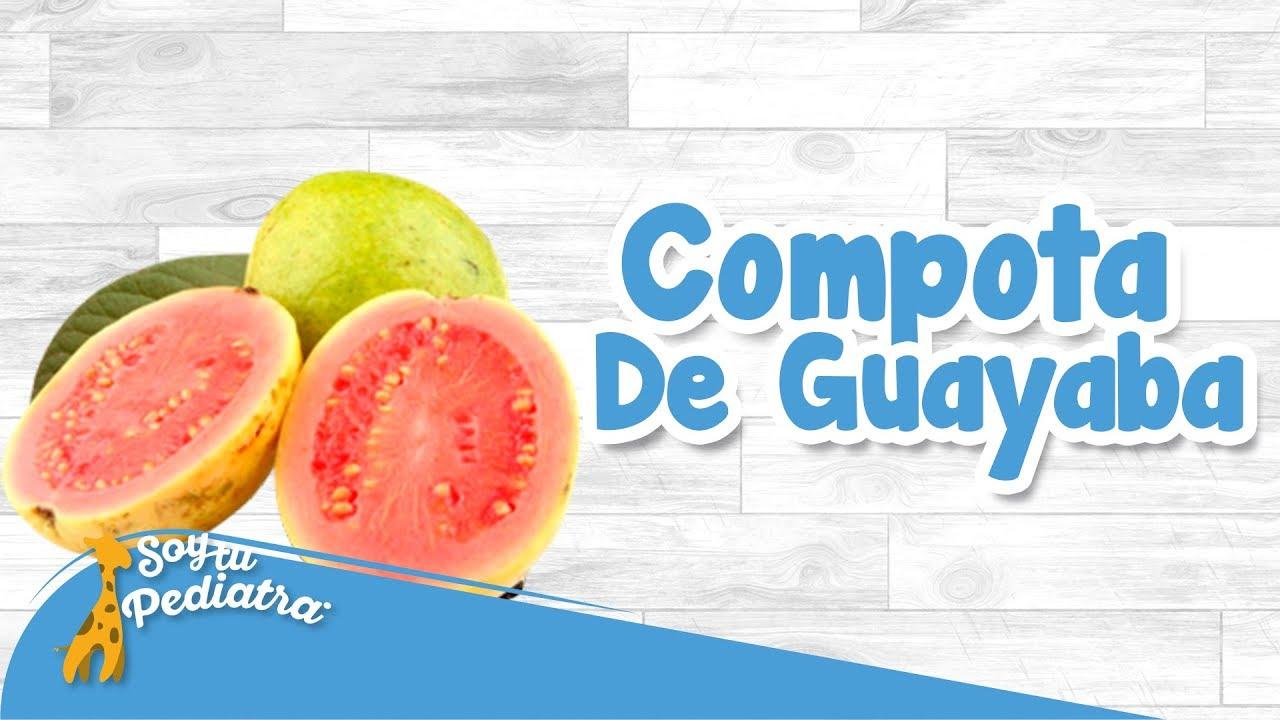 como hacer compota de guayaba natural