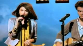 Jonas Brothers and Demi Lovato and Miley Cyrus and Selena Gomez-Send it on