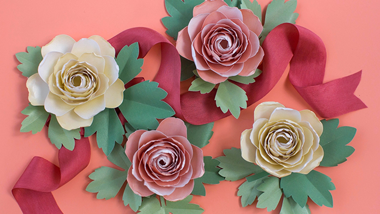 How to make paper flower ranunculus youtube how to make paper flower ranunculus mightylinksfo