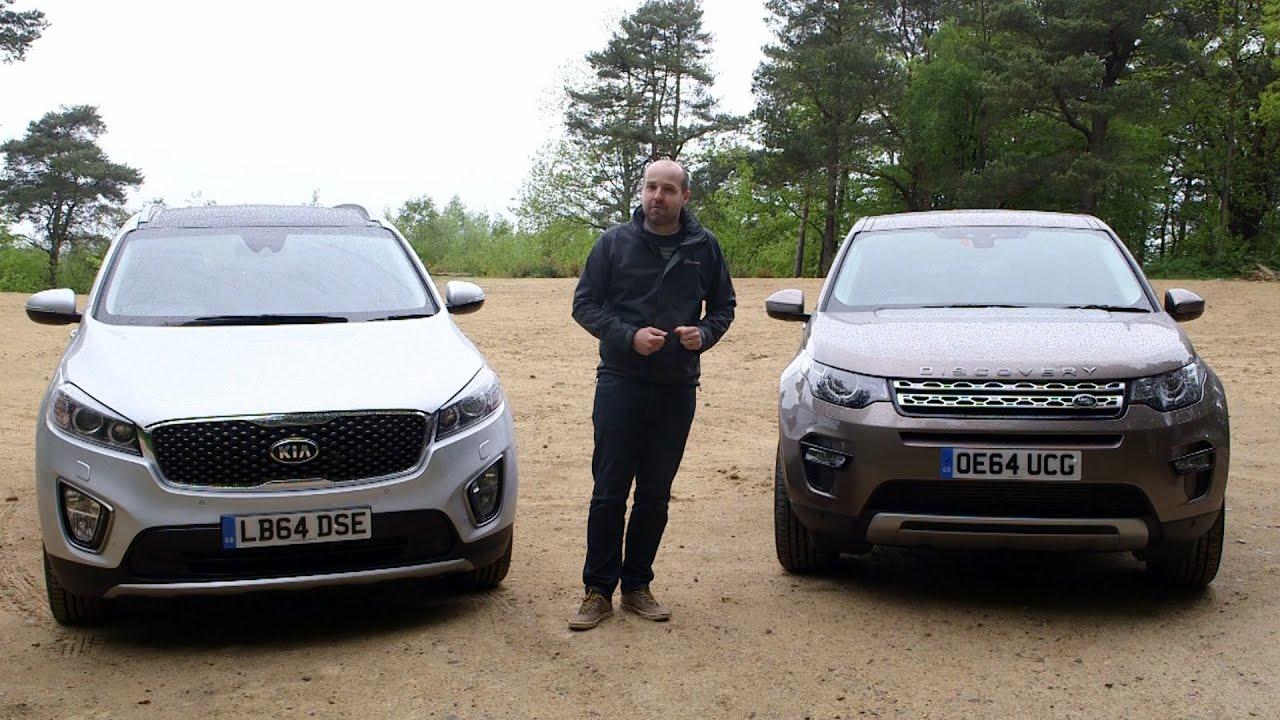 Land Rover Discovery Sport vs Kia Sorento