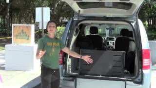 Rear Entry Handicap Van is Life Changing! Simple, Safe & Strong! Triple S Mobility.