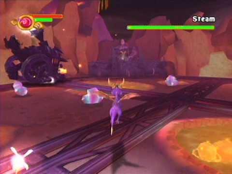 Spyro A New Beginning: Steam Boss - YouTube