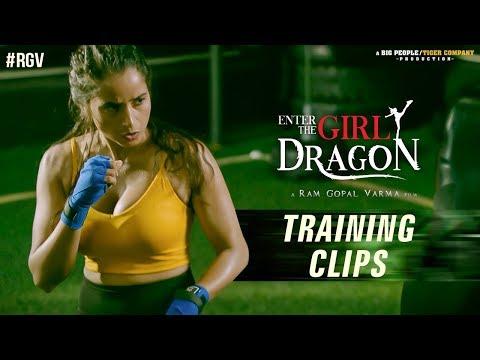 Enter The Girl Dragon Training Clips | Enter The Girl Dragon | RGV | India's First Martial Arts Film