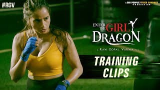 Enter The Girl Dragon Training Clips | Enter The Girl Dragon | RGV | India's First Martial Arts Film