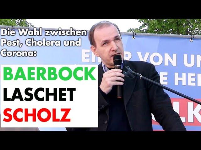 Wahlkampfrede in Sachsen-Anhalt