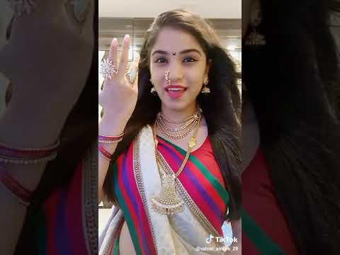 Maja Rubab Aahe Anmol Cute Tik Tok (saloni Ambre)👍
