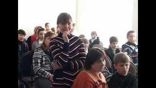 Урок истории в Красносельской школе